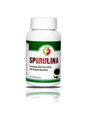 Spirulina Pack of 60 Capsules