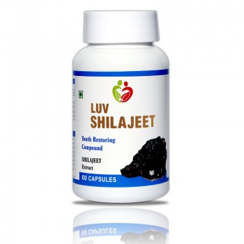 Luv Shilajeet Pack of 60 Capsules