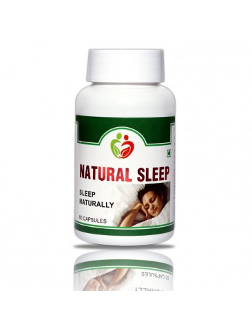 Natural Sleep Pack of 60 Capsules