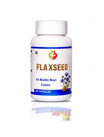 Flaxseed Pack of 60 Capsules