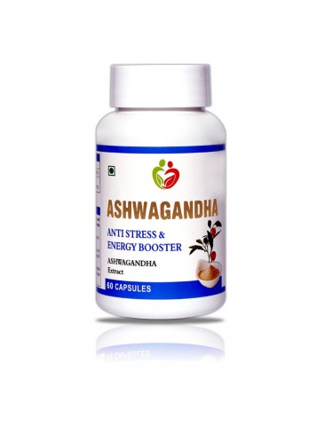 Ashwagandha Pack of 60 Capsules