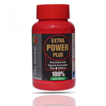 Extra Power Plus Pack of 60 Capsules