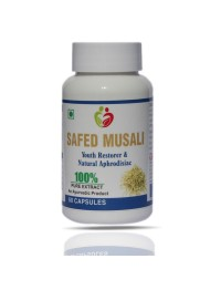 Safed Musali Pack of 60 Capsules
