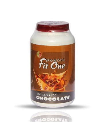 Fit One Powder Belgium Chocolate  Flavour 200 GM. For Kids