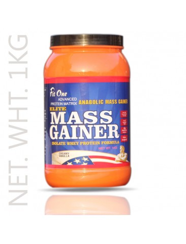 Fit One Mass Gainer Isolate Whey Protein Formula 1Kg