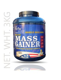 Fit One Mass Gainer Isolate Whey Protein Formula 2.5Kg